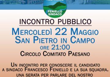 Incontro pubblico a San Pietro in Campo
